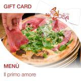 Gift Card - Menù Il primo amore