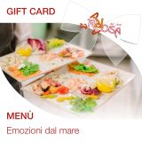 Gift Card - Menù Emozioni Dal Mare