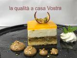 Cheesecake con pistacchio e frutto della passione